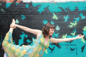Dancer Pose for Yoga Teachers