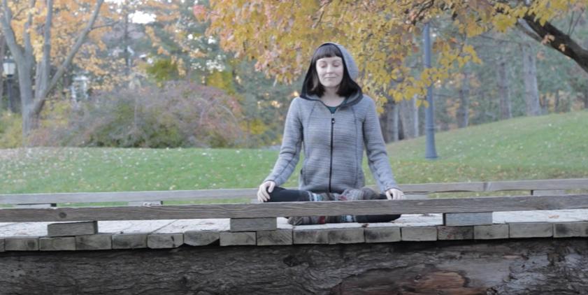 ElementalVideo Erin Meditating Bridge